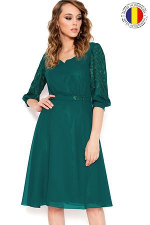 Rochie Hermina 001 Green