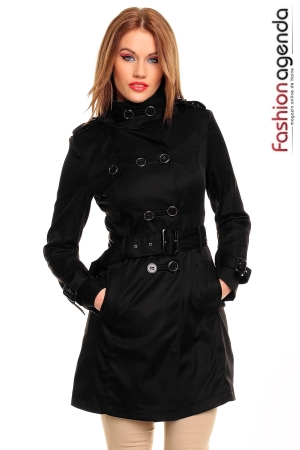Trench Negru Waterloo