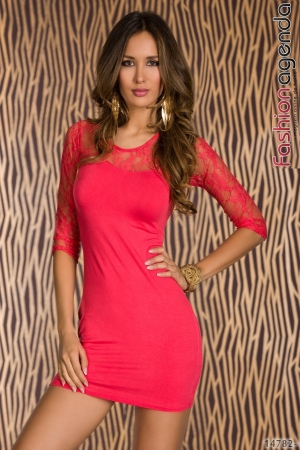 Rochie Evelyn Coral