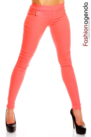 Pantaloni Coral Neon Nights