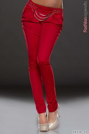 Pantaloni Rosii Joy