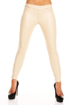 Pantaloni Crem Axelle