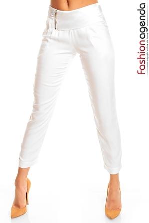 Pantaloni Albi Harem
