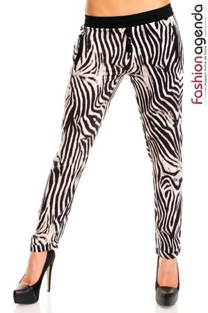 Pantaloni Animal Print Zambara