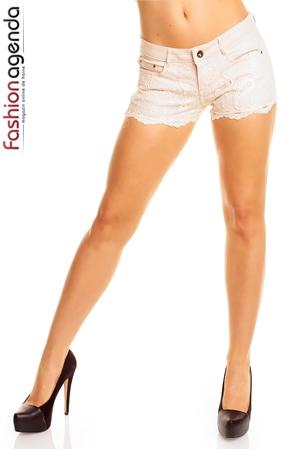 Pantaloni Scurti Ivoire Ginny