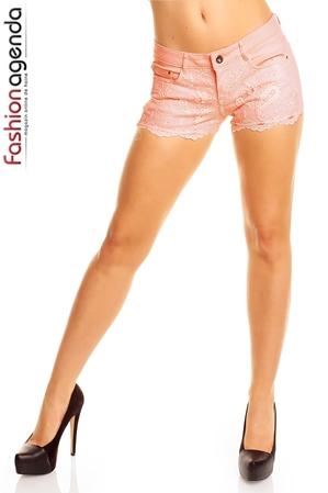 Pantaloni Scurti Somon Ginny