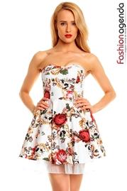 Rochie cu Imprimeu Floral Ranya