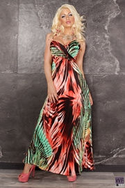 Rochie Lunga Coral Lidiane