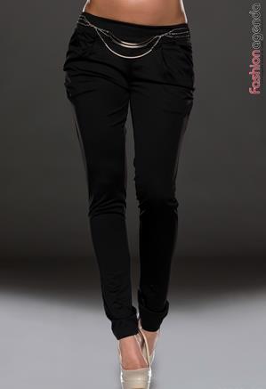 Pantaloni Negri Joy