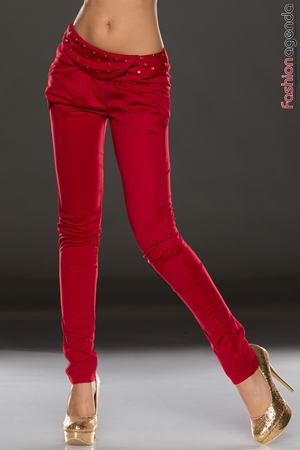 Pantaloni Rosii Rupert