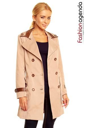 Trench Bej Oxford Vivid