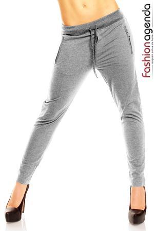 Pantaloni Sport Gri Fisher