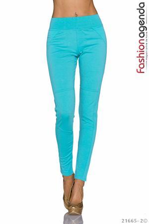 Pantaloni Turcoaz Ary