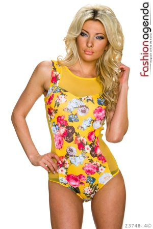 Body Romantic Roses Yellow