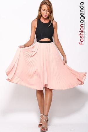 Rochie Asimetrica Anais Pink