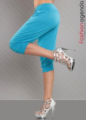 Pantaloni Turcoaz Indira