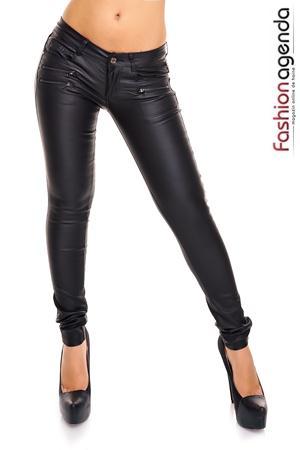 Pantaloni Negri Callum