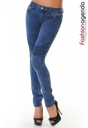 Jeans Albastri Troy