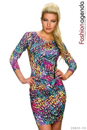 Rochie Colourful Print