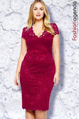 Rochie Xxl Desire 10 Berry