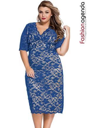 Rochie Xxl Desire 64 Blue
