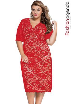 Rochie XXL Desire 64 Red