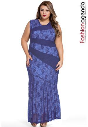 Rochie XXL Desire 67 Blue