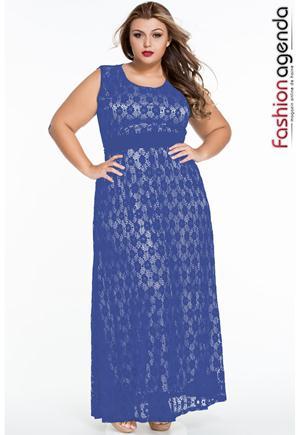 Rochie XXL Desire 73 Blue