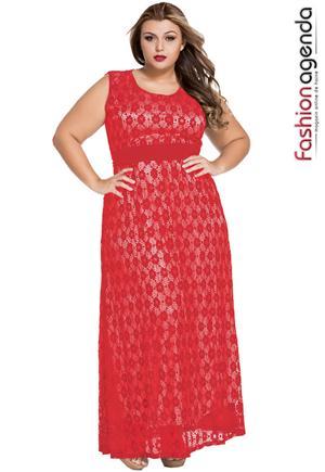 Rochie XXL Desire 73 Red