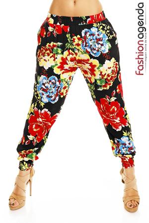 Pantaloni Tropical Red
