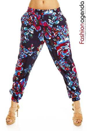 Pantaloni Tropical Blue
