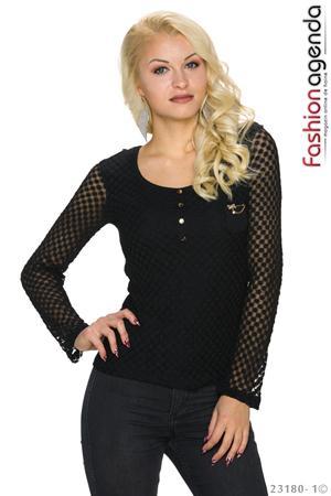 Bluza Neagra Zonia