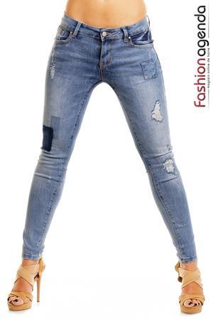 Jeans Albastri Maurice
