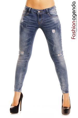 Jeans Albastri Royce