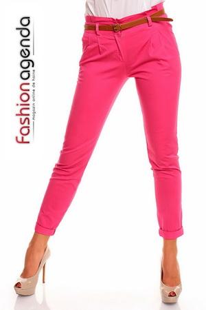Pantaloni cu Curea Ripperton Roz