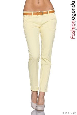 Pantaloni Galbeni Donovan
