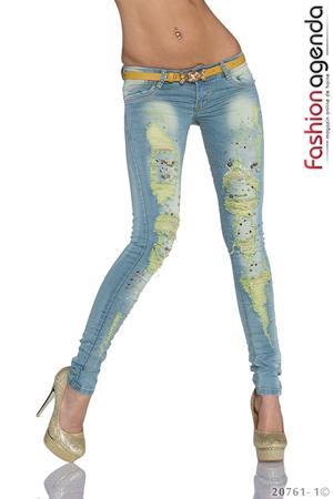 Jeans Albastri Wiley