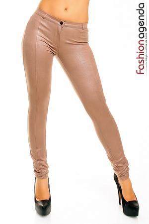 Pantaloni Bej Sparkle