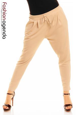 Pantaloni Bej Robyn