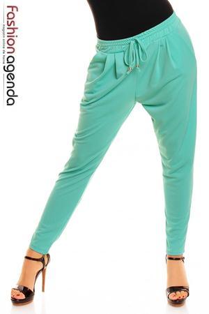 Pantaloni Turcoaz Robyn