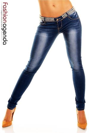 Jeans cu Pietre Brock