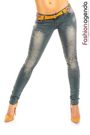 Jeans Albastri Sonny