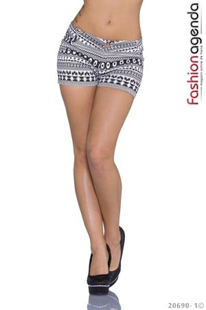 Pantaloni Scurti Black&White