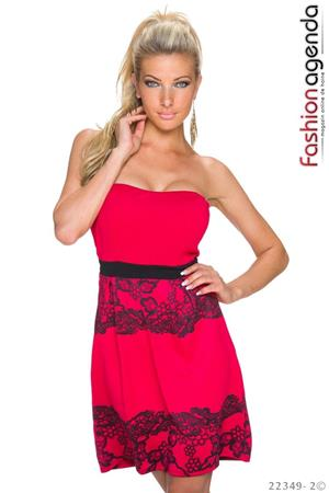 fashionagenda.ro Rochie Clos Red Crush