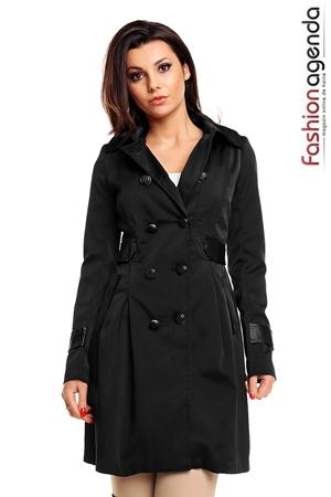Trench Negru Seattle