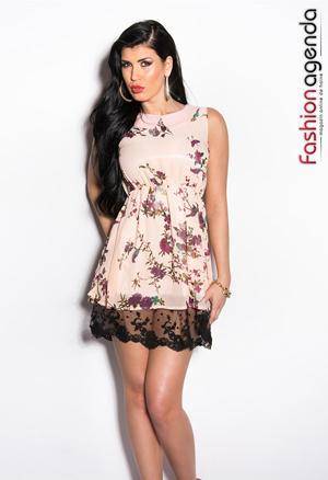 Rochie Rose Fanya