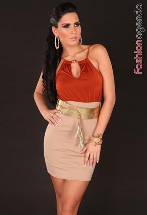 Rochie Serenade Orange
