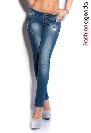 Jeans Albastri Dustin