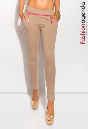 Pantaloni Crem Berto