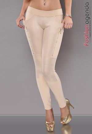 Pantaloni Crem Efrem
